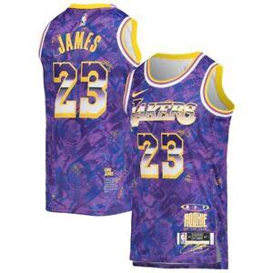 Los Angeles Lakers LeBron James #23 Nike 2021 MVP Swingman Jersey Select Series