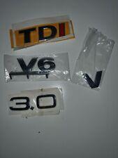 TDI,3.0,V6,V6,Tuning Aufkleber neu Auto