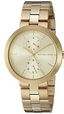 Michael Kors Ladies Garner Gold - tone  Watch - MK6408
