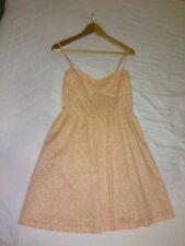 New with tags dress by H&M Size 14 White and orange floral pattern With pockets!