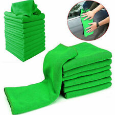 10Pcs Microfibre 25*25cm Cleaning Car Detailing Soft Cloths Wash Polish Towel