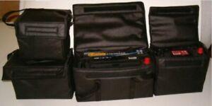60Ah 26x20x18cm Batteriehülle Batterietasche Thermotasche Akkutasche