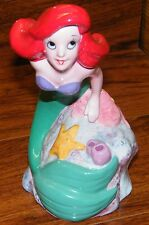 "Walt Disney's The Little Mermaid Ariel Swimming 6 1/2"" Inch Ceramic Figurine!"