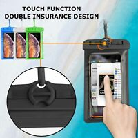 Sports Waterproof Bag Dry Pouch Underwater Clear Swimming Case Cover Cell Phone