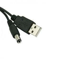 1X Power Cable Connector Superior 1M Usb Port To 5.5 x 2.1mm 5V Dc Usb Data line