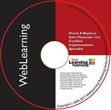 Oracle EBS Financials certifié 12.x mise en œuvre de la formation spécialisée Guide