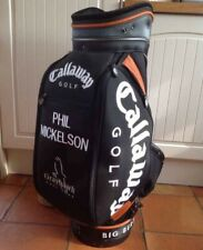 EXTREMELY RARE PHIL MICKELSON CALLAWAY STAFF TOUR GOLF BAG