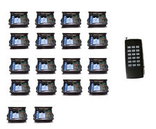 RF 18x1CH way Remote Control Switch Relay no/nc Wireless Light led DC9V/12V 500m