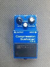 More details for boss cs-2 (cs2) compression sustainer guitar pedal, vintage made in japan 1983