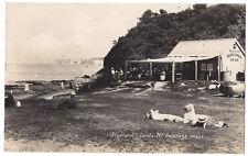 STUDLAND Sands, Showing Fern Glen Tea Room, RP Postcard Unused