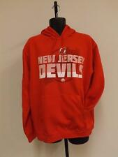 Neuf Majestic New Jersey Devils Hommes L Capuche 82UL