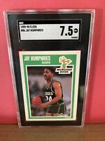 1989-90 Fleer Basketball Jay Humphries #86 SGC 7.5 NM Graded Card BUCKS
