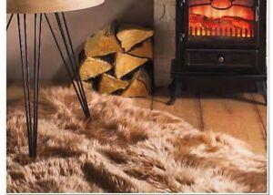 Origin Luxury Australian Merino Wool Sheepskin Quad Beige/Mink 115x190cm approx