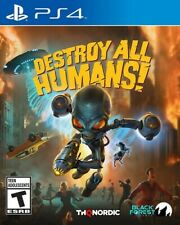 Destroy All Humans! for PlayStation 4 [New Video Game] PS 4
