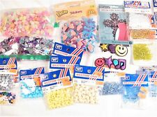 25 Piece Craft Lot / Butterfly Beads - Felt Stickers - Seed Beads - LOTS MORE!!!