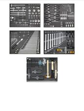 Hazet Heni Werkzeugsortiment  5 Werkzeugmodule 204teilig Schaumstoff Einlage