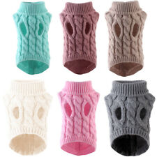 Pet Dog Sweater Cat Clothes For Small Dog Clothing Spring Jacket Knit Costume