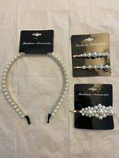 Fashion Accessories Faux Pearl Set