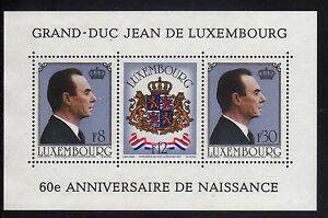Luxembourg/Luxembourg 1981 MNH SC.650 Grand Duke Jean