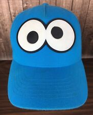 Sesame Street Youth Cookie Monster Baseball Hat Summer UPF 50+ NWT