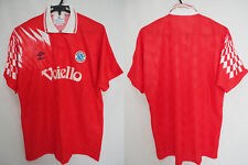 1991-1992-1993 SSC Napoli Partenopei Football Jersey Shirt Maglia Third Umbro