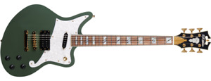 D'Angelico Deluxe Bedford Electric Guitar - Hunter Green