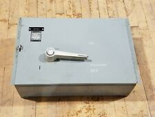 Westinghouse FDP 365R Disconnect Fused Panelboard Switch 400 Amp 3 Pole 600 VAC