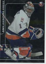 1999-2000 BE A PLAYER SIGNATURE SERIES - RICK DiPIETRO ROOKIE CARD  326/500