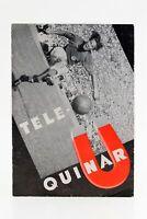 Zeitschrift Broschüre Tele- Quinar