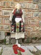 Women's antique ethnic costume from Skopska Blatija, beautiful costume