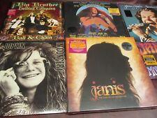 JANIS JOPLIN CONCERTS FAREWELL+BOX SET 180 GRAM & MOVE OVER 45'S BOX 14 LP Set
