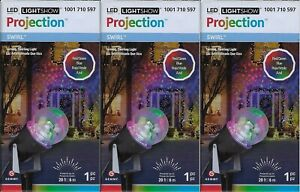 3 LED LightShow  Red /Green /Blue Projection Kaleidoscope Light Show In Boxes