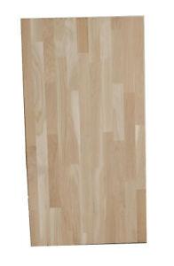Holzplatte Leimholzplatte Eiche 110 x 46 cm
