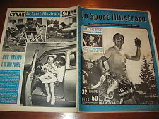 LO SPORT ILLUSTRATO GAZZETTA 1952/26 FORNARA FAUSTO COPPI TOUR DE FRANCE