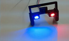 1/24 Scale Push Bumper w/ Flashing LEDs for Custom Diecast Police Models