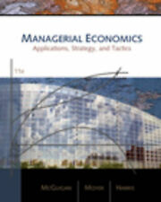 Managerial Economics: Applications, Strategies, and Tactics by Frederick H deB H