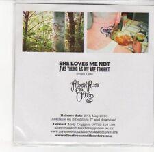(DL336) Albert Ross & The Otters, She Loves Me Not - 2010 DJ CD