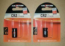 Ansmann cr2 (3v) batería de litio, 2 St.