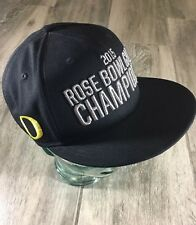 new arrival 920a4 04e38 Matt Mariota Oregon Ducks Issued Hat Player Exclusive Game Used 2015 Rose  Bowl