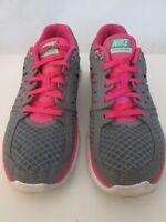 Nike Flex 2013 Run Womens Size 8.5 US 40 EUR Running Shoes Gray Pink