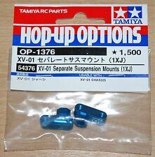 TAMIYA 54376 XV-01 Seperate Suspension Supports (1XJ) (XV01/XV-01 Pro/XV-01T), Neuf sous emballage