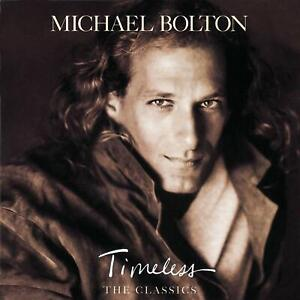 VERY GOOD CD Michael Bolton Timeless (The Classics) 1992 American singer