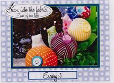 PATTERN - Escargot - very cute snail pincushion PATTERN