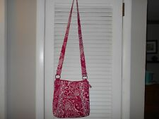 Vera Bradley Hipster in TWRILY BIRD PINK pattern, SUPER Pre owned VGUC and cute!