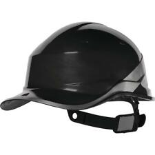 Delta Plus BLACK DIAMOND Hard Hat Safety Helmet Hi Visibility Builders Industry