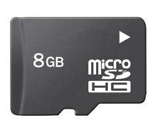 8GB Micro SD Flash Memory Card For Mobile Dash Cam Camera Bulk Packaging Black