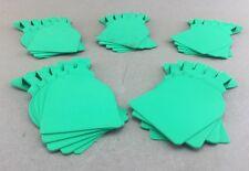 (25) New Allflex Advantage Blank Lite Green Feedlot Tag 2-3/4� W x 4-3/4� H