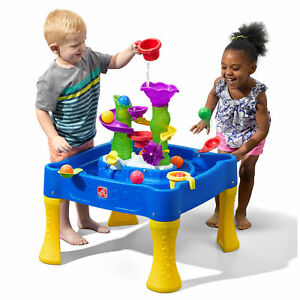 Step2 Rise and Fall Water & Ball Table, Kids Toddler Outdoor Play Toys