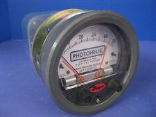 "Dwyer 3000-0 Photohelic Gauge 0 to 0.5"",  Used"