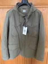 C.P. Company Men's Field Jacket Army Green Size XL